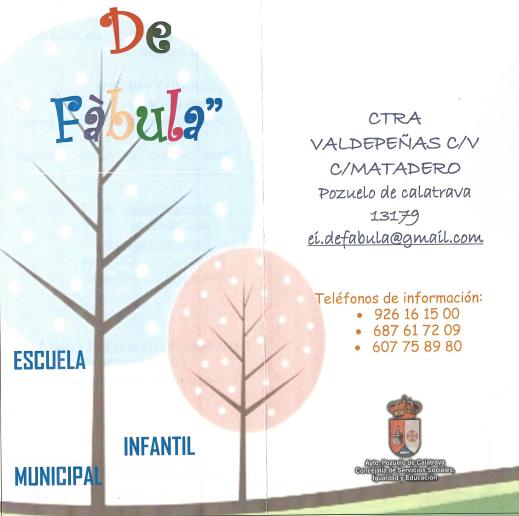 Escuela infantil en pozuelo ceip jos mar a de la fuente pozuelo de calatrava ciudad real - Escuelas infantiles pozuelo ...